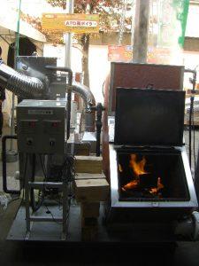エーテーオー ウッドボイラー+施設園芸用温風暖房機