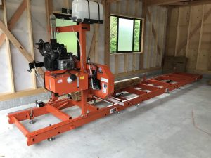 C.W.ニコル・アファンの森財団 様へウッドマイザ製材機を導入いただきました