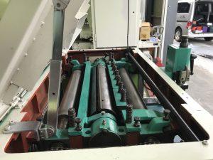 (中古)飯田工業 定盤固定自動一面かんな盤 FX-542